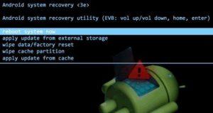 Телефон Android не загружается в Rеcovеry Menu (Рекавери)