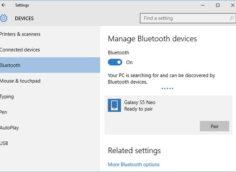 Android не подключается к Windows 10 по Bluetooth