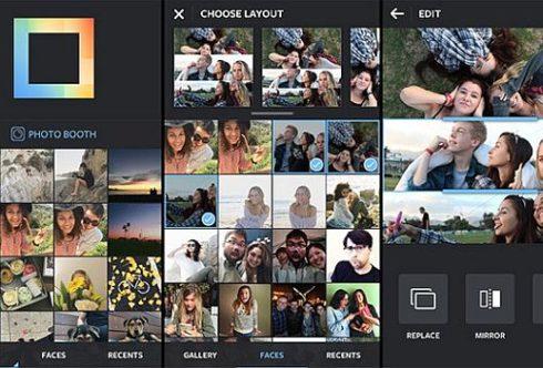 ТОП 5 приложений Android коллаж из фото