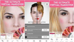 ТОП 5 приложений Android макияж