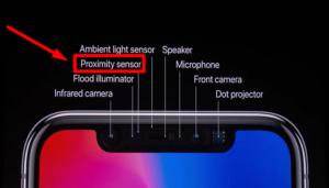 На iPhone не работает датчик приближения
